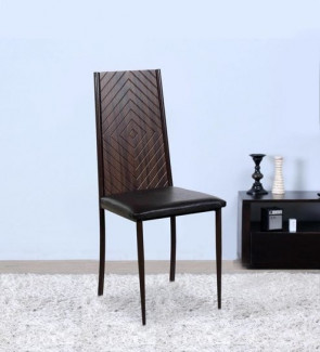 Gautam Furniture Dining Chair in Ebony
