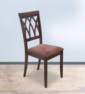 Gautam Furniture Peak Dining Chair in Brown Colour